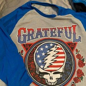 Grateful Dead 3/4 sleeve tee